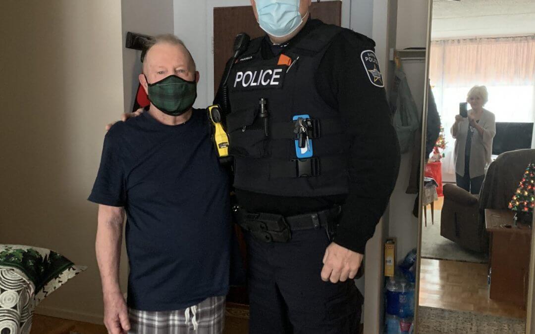 Veteran Barrie Police Service Sergeant Saves Life